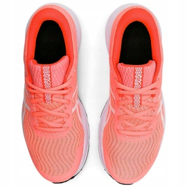 Buty damskie do biegania Asics Patriot 12 brzoskwniowe 1012A705 700 wielokolorowe pomarańczowe 1