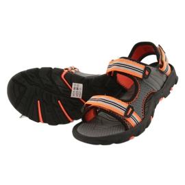 Sandały dla chłopca 4F multikolor HJL20 JSAM003 90S szare 6