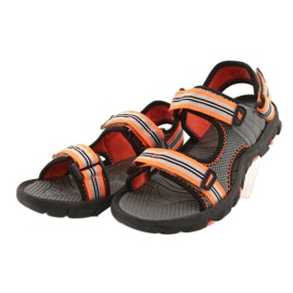 Sandały dla chłopca 4F multikolor HJL20 JSAM003 90S szare 5