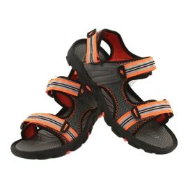 Sandały dla chłopca 4F multikolor HJL20 JSAM003 90S szare 7