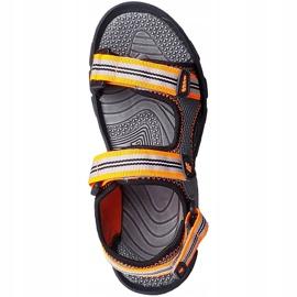 Sandały dla chłopca 4F multikolor HJL20 JSAM003 90S szare 2