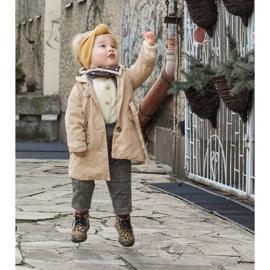 FRROCK Dziecięce Botki z Suwakiem W Panterkę Dafne brązowe wielokolorowe 6