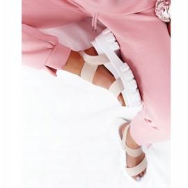 PS1 Sandały Na Platformie Beżowe Vagabond beżowy 7