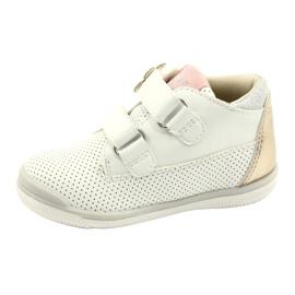 American Club Sportowe Buty Na Rzep GC06/21 Biało-Złote białe złoty 1