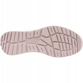Buty damskie 4F różowe H4L21 OBDL250 SETCOL001 56S 2