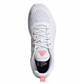 Buty damskie adidas Novamotion biało-różowe FW3256 białe 2