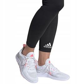 Buty damskie adidas Novamotion biało-różowe FW3256 białe 7