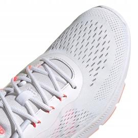 Buty damskie adidas Novamotion biało-różowe FW3256 białe 4