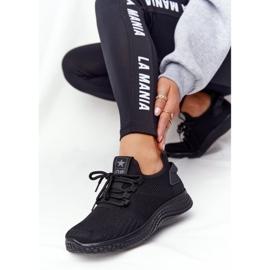 EVE Damskie Sportowe Buty Slip-On Czarne Roxy 1