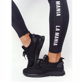 EVE Damskie Sportowe Buty Slip-On Czarne Roxy 3