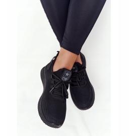 EVE Damskie Sportowe Buty Slip-On Czarne Roxy 4