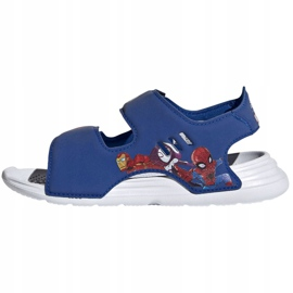 Sandały adidas Swim Sandal C Jr FY8938 granatowe 1