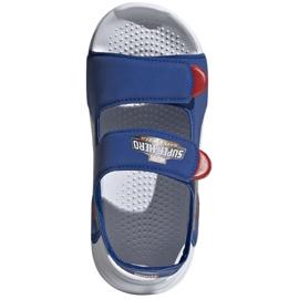Sandały adidas Swim Sandal C Jr FY8938 granatowe 3