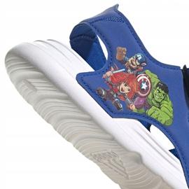 Sandały adidas Swim Sandal C Jr FY8938 granatowe 5