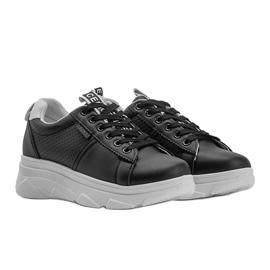 Czarne sneakersy sportowe Maniac 2