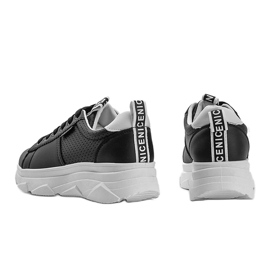Czarne sneakersy sportowe Maniac 1