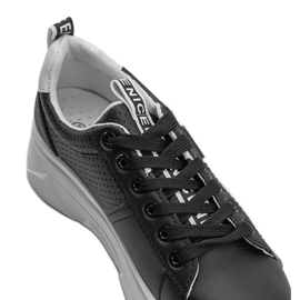 Czarne sneakersy sportowe Maniac 3