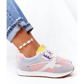 PS1 Damskie Sportowe Buty Sneakersy Różowo-Szare After Hours różowe wielokolorowe 8
