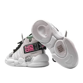 Sneakersy skarpetkowe białe Ava wielokolorowe 2