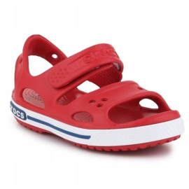 Sandały Crocs Crocband Ii Sandal Jr 14854-6OE czerwone 3