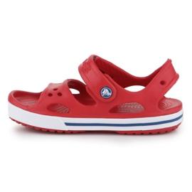 Sandały Crocs Crocband Ii Sandal Jr 14854-6OE czerwone 4
