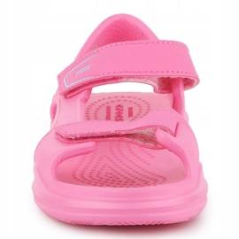 Sandały Crocs Swiftwater Jr 206267-6M3 różowe 1