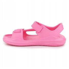 Sandały Crocs Swiftwater Jr 206267-6M3 różowe 4