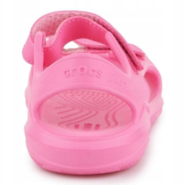 Sandały Crocs Swiftwater Jr 206267-6M3 różowe 5