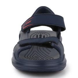 Sandały Crocs Swiftwater Jr 206267-463 granatowe 1