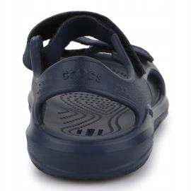 Sandały Crocs Swiftwater Jr 206267-463 granatowe 4