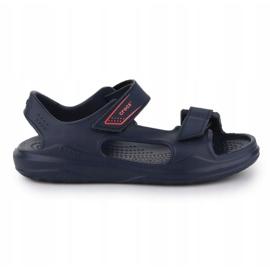 Sandały Crocs Swiftwater Jr 206267-463 granatowe 5