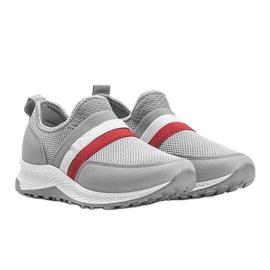Szare wsuwane obuwie sportowe Aimee 1