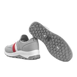 Szare wsuwane obuwie sportowe Aimee 2