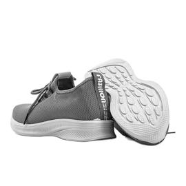 Szare obuwie sportowe Heidi 3