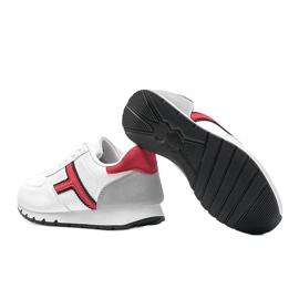 Białe casualowe obuwie sportowe damskie Lizabeth 2