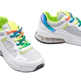 Białe obuwie sportowe damskie Ashlee 3