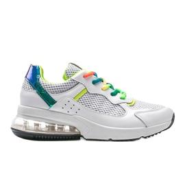 Białe obuwie sportowe damskie Ashlee 4