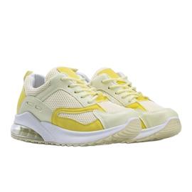 Żółte obuwie sportowe damskie Alize 1