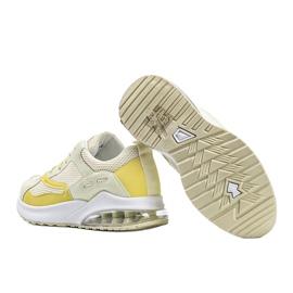 Żółte obuwie sportowe damskie Alize 2