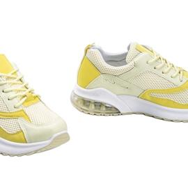 Żółte obuwie sportowe damskie Alize 3
