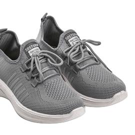 Szare obuwie sportowe Kari 2