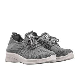 Szare obuwie sportowe Kari 3