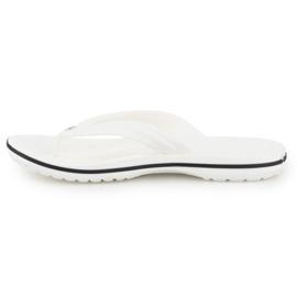 Japonki Crocs Crocband Flip W 11033-100 białe 4