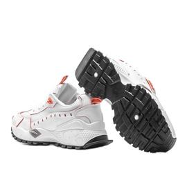 Białe sneakersy sportowe Ericka 2