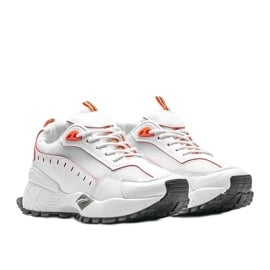 Białe sneakersy sportowe Ericka 4