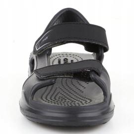 Sandały Crocs Swiftwater Jr 206267-0DD czarne 1