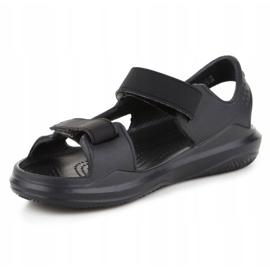 Sandały Crocs Swiftwater Jr 206267-0DD czarne 2