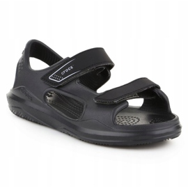 Sandały Crocs Swiftwater Jr 206267-0DD czarne 3