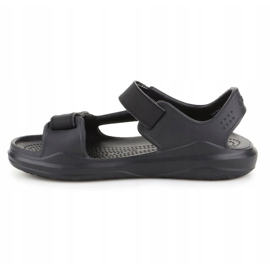 Sandały Crocs Swiftwater Jr 206267-0DD czarne 4