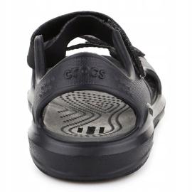 Sandały Crocs Swiftwater Jr 206267-0DD czarne 5